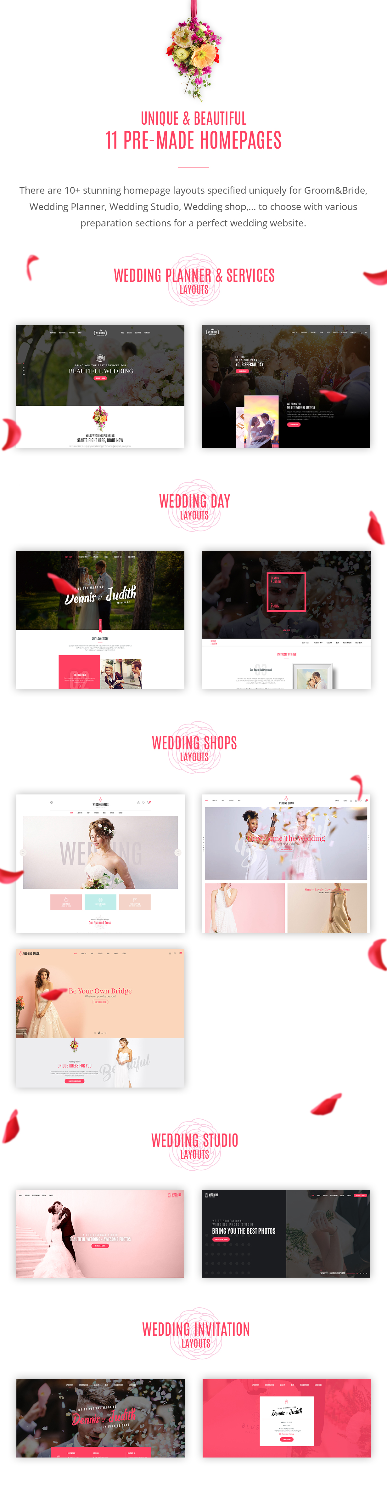 Wedding - All in One WordPress Theme - 4